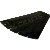 Black Pen Pouch Sleeves x 5