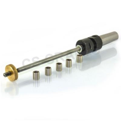 Morse #1 taper mandrel MT1 - Adjustable