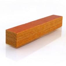Golden Coloured Wood Pen Blank