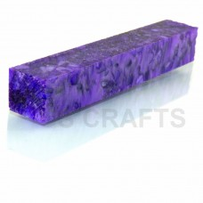 Acrylic Pen Blank Crushed Purple Pearl
