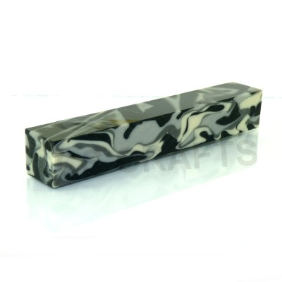 Acrylic Pen Blank Urban Camouflage