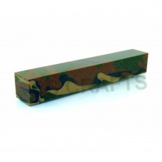 Acrylic Pen Blank Woodland Camouflage