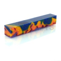 Acrylic Pen Blank Carnival Camouflage