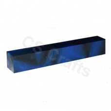 Dark Blue & Black Line - Acrylic Pen Blank