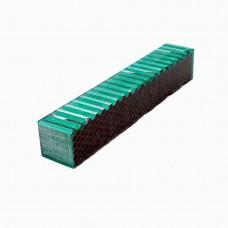 Green with aluminium honeycomb Resin Blank
