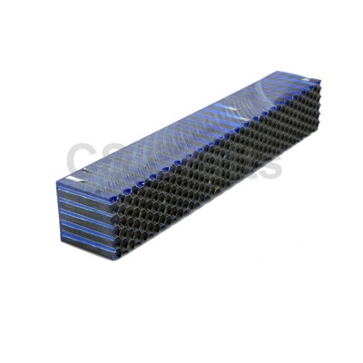 Blue with aluminium honeycomb Resin Blank