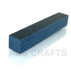 Coloured Wood Pen Blank Blue