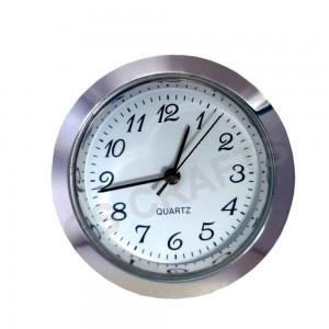 43mm Clock Insert - Silver Bezel - Arabic numerals