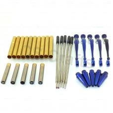 Blue Fancy Pen Kits, Pack of 5