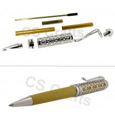 Silver European Filigree Pen Kit, Single Kit