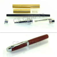 Chrome Manager Rollerball Pen Kit