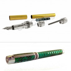 Chrome Mysterious Sky Fountain Pen Kit