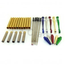 Mixed Colour Fancy Pen Kits, Pack of 5