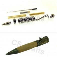 Gun Metal European Filigree Pen Kit, Single Kit