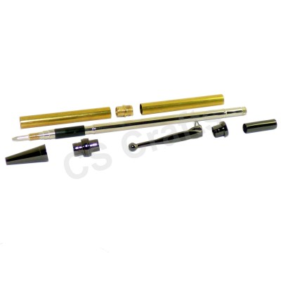 Gun Metal Fancy Pencil Kit, Single Kit