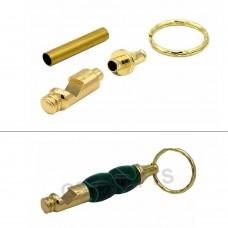 Bottle Opener Keyring in Gold finish