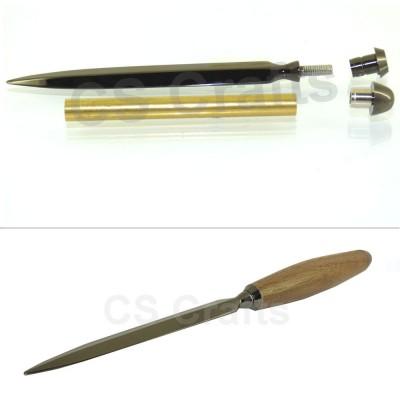 Letter Opener Kit in Gun Metal finish