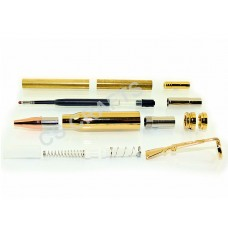 Gold Bullet Click Pen Kit