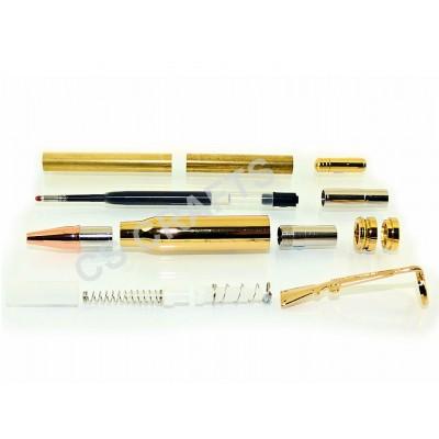 Gold Bullet Click Pen Kit