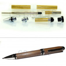 Chrome Cigar Pen Kit, Single Kit