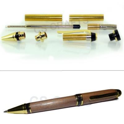 Gold Cigar Pen Kit, Single Kit