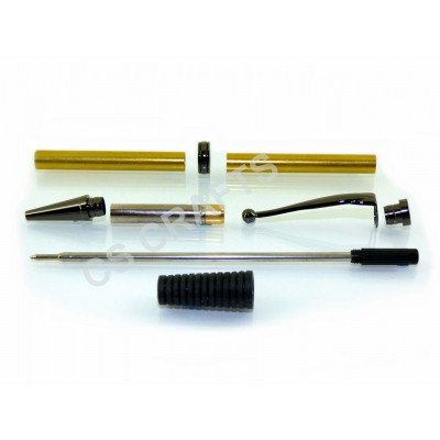 Gun Metal Comfort Pen Kit, Single Kit