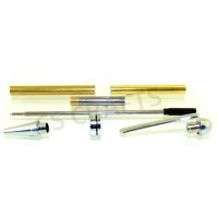 Chrome European Pen Kit, Single Kit