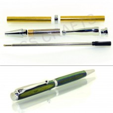 Chrome Fancy Pen Kit, Single Kit