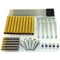 Chrome Fancy Pen Kits, Pack of 5