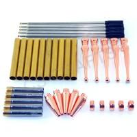 Copper Fancy Pen Kits, Pack of 5
