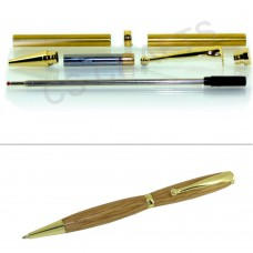 Gold Fancy Pen Kit, Single Kit