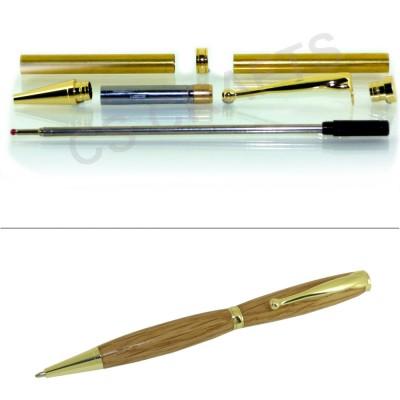 Gold Fancy Pen Kit, Single Kit