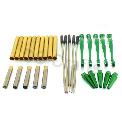 Green Fancy Pen Kits, Pack of 5