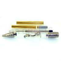 Antique Silver Oriental Pen Kit, Single Kit