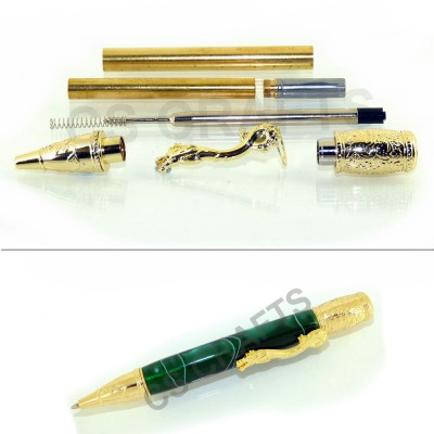 Gold Oriental Pen Kit, Single Kit