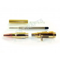 Gold Rifle Lock n Load Bolt Action Bullet Pen Kit