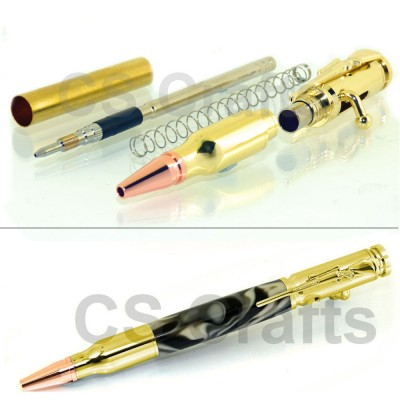 Gold Lock n Load Bullet Pencil Kit
