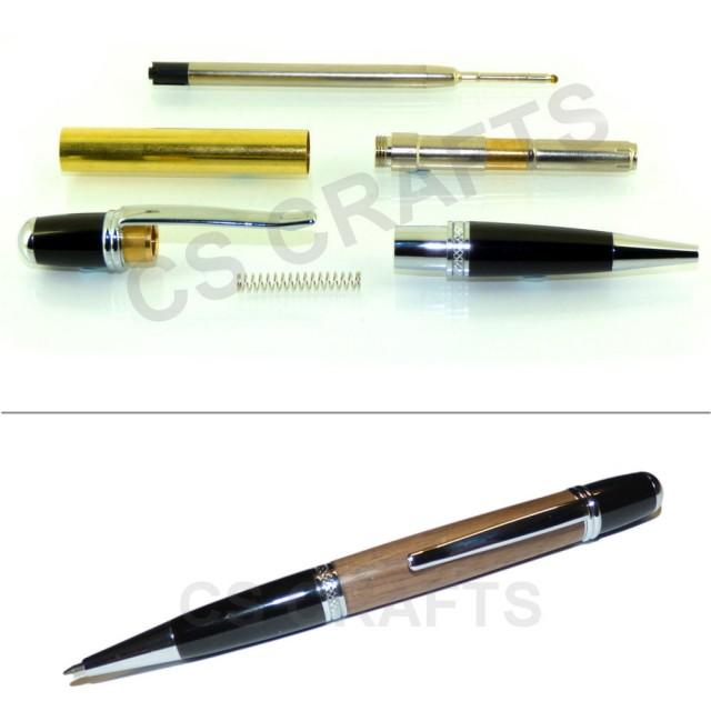 Woodturning Pen Kit Spares  Finished Barrels Blanks//Tubes to fit SIERRA pen kits