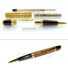Gold / Gun Metal Sierra Pen Kit, Single Kit