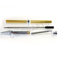 Chrome Slimline Pen Kit, Single Kit