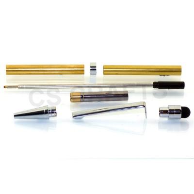 Touch Stylus Chrome Slimline Pen Kit
