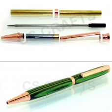 Copper Slimline Pen Kit, Single Kit