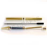 Gold Slimline Pen Kit, Single Kit
