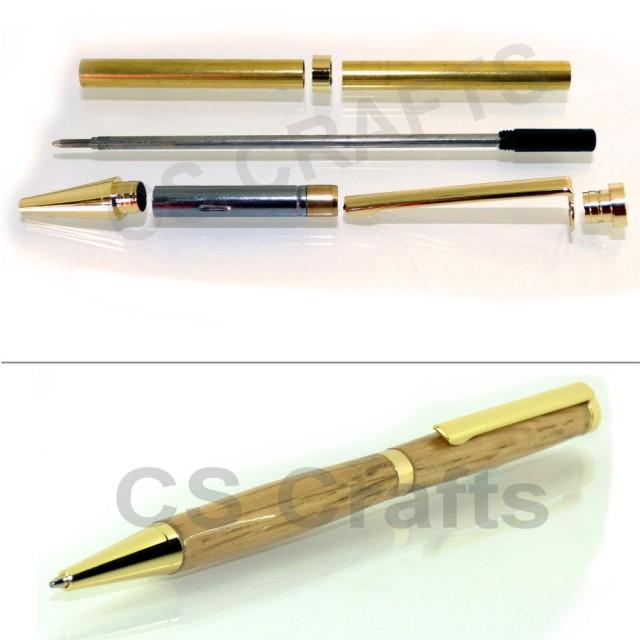 Pen kit 7mm spares Euro for woodturning Twist Mechanisms for Fancy Slimline