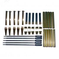 Gold Slimline Pen Kits, Pack of 5