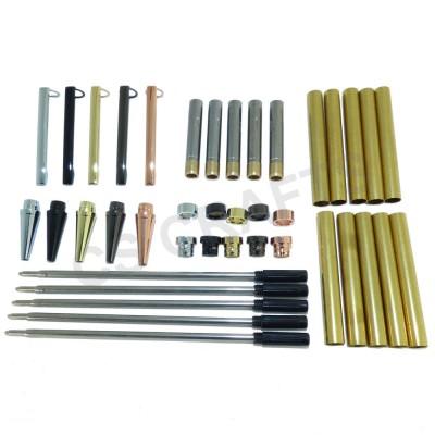 Slimline Pen Kits, Pack of 5 - Mixed Finishes