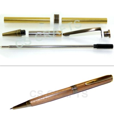 Antique Bronze Streamline Pen Kit, Single Kit