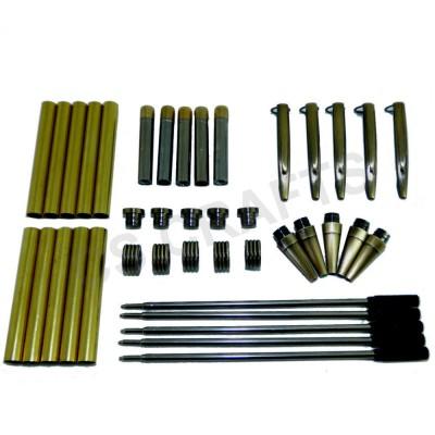 Antique Bronze Streamline Pen Kits, Pack of 5
