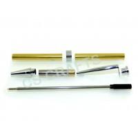 Chrome Streamline Pen Kit, Single Kit