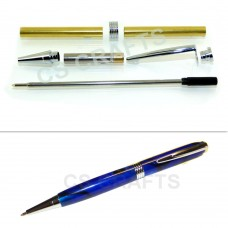 Chrome Streamline Pen Kit, Single Kit